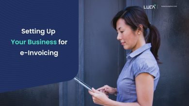 Setting Up Your Business for e-invoicing